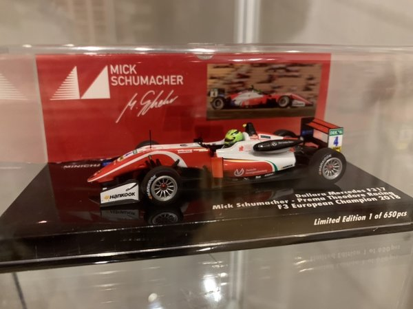 Dallara Mercedes F317 - Mick Schumacher - F3 European Champion 2018