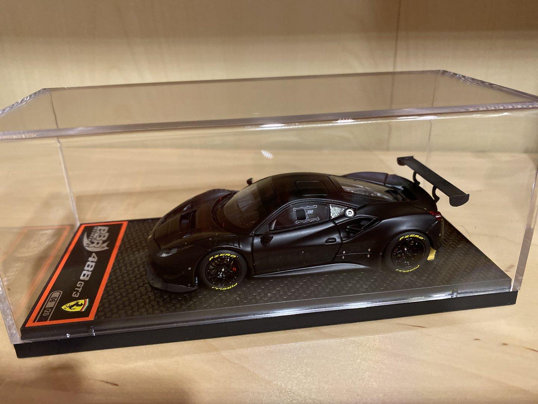 BBR Ferrari 488 GT3 Limit 20 Stück Nero opaco 1:43